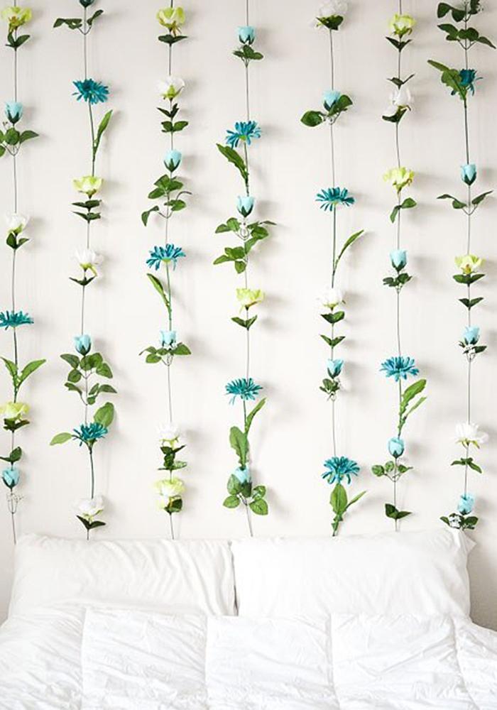diy wall decor ideas diy flower wall